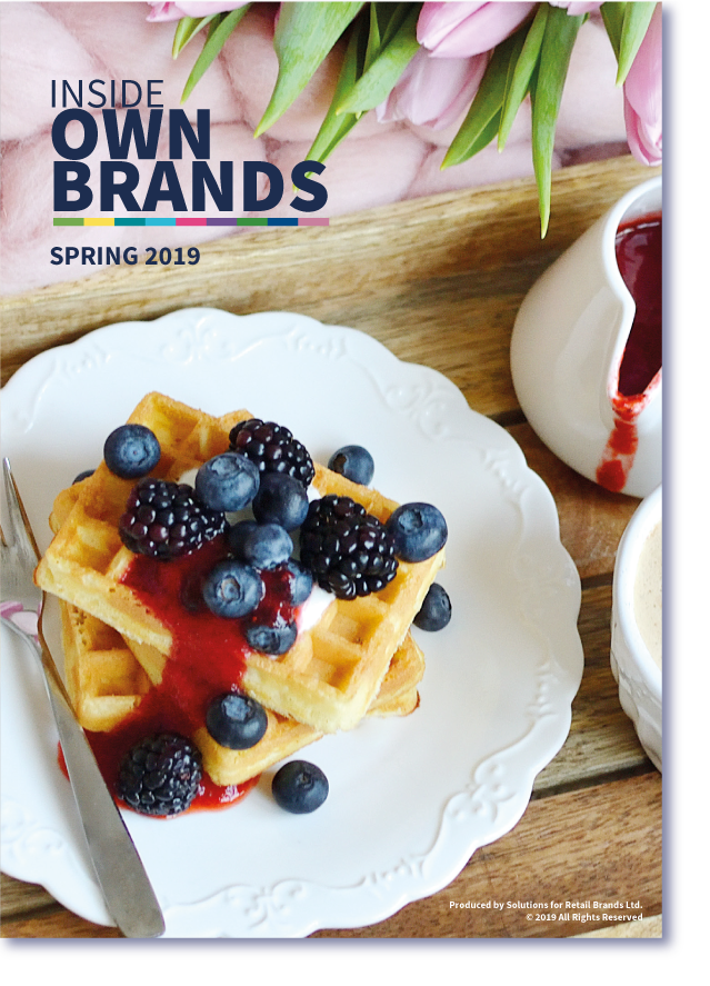 Spring 2019 Inside Own Brands Front Cover